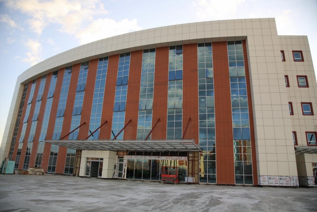 Zey Yapı - Sivas Numune Hastanesi Ek Bina İnşaatı